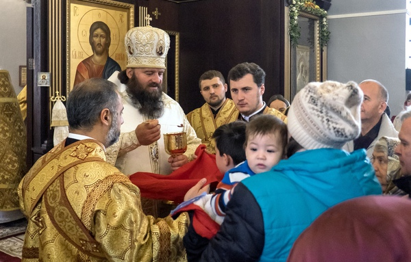 Престольный праздник в храме святителя Иннокентия митрополита Московского в Бескудникове